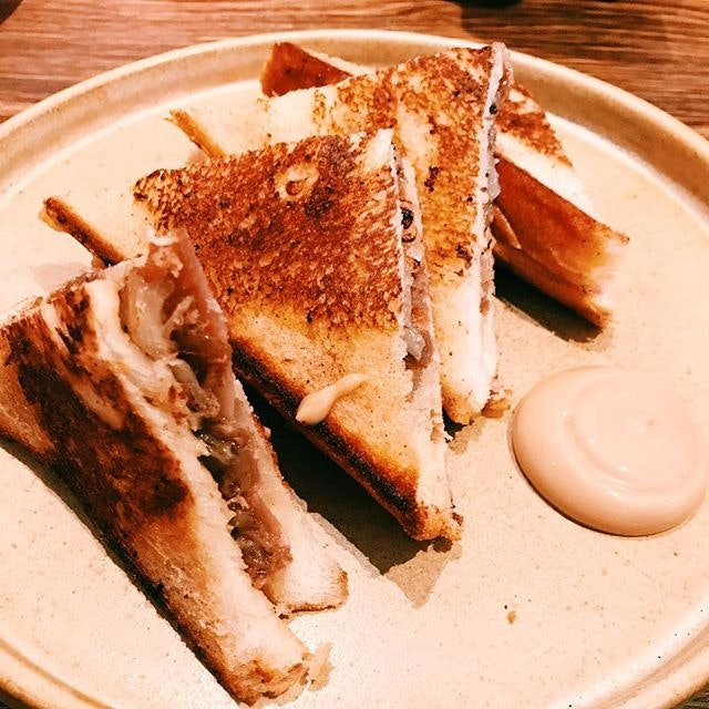 Coppa and duck toasties.