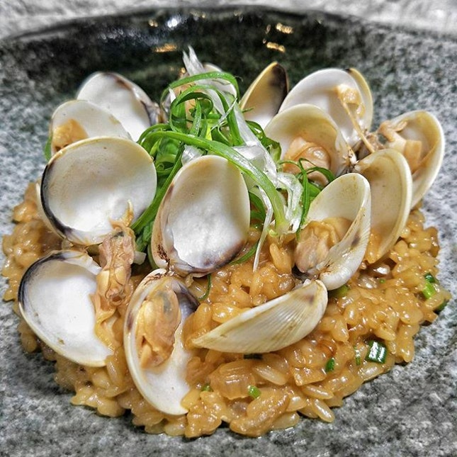 ~ Keep Calm & Carry On ~ Alternatively, you may keep clam & have a Risotto for dinner.