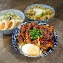 ~ 丼 ~ Came to this new Ramen stall located less than 5 mins from my home but the Donburi on offer here are good too!