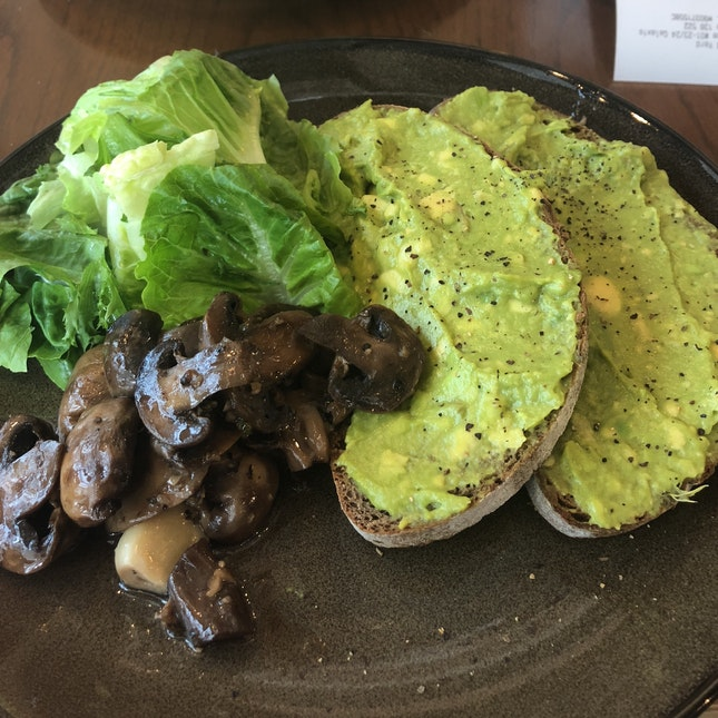 Avocado Toast, $10