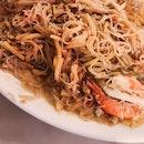 Fatty Fried Hokkien Prawn Noodle / Carrot Cake (Ci Yuan Hawker Centre)
