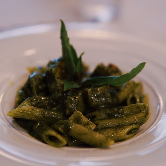 Chicken Penne with Pesto