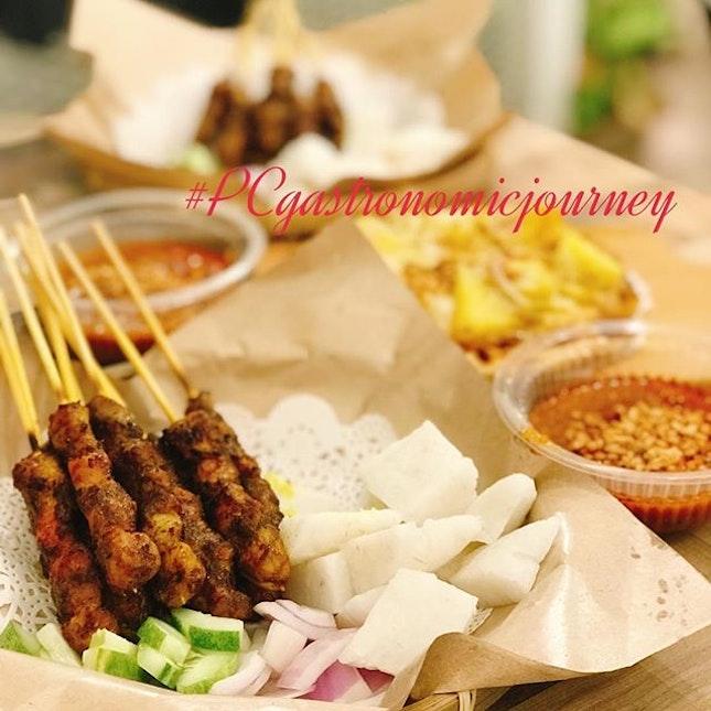 Pork Satay!