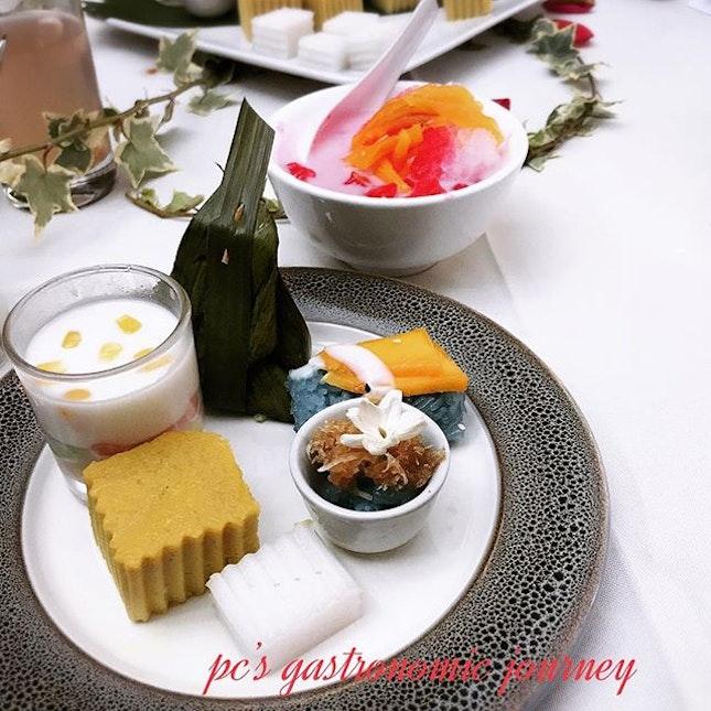 Dessert spread Rama V.