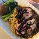 bbq charsiew ants roast pork noodle $4+