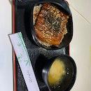 Unagi don, Salmon Mentaiko don