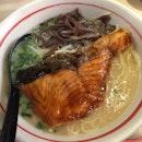 Salmon Teriyaki Ramen