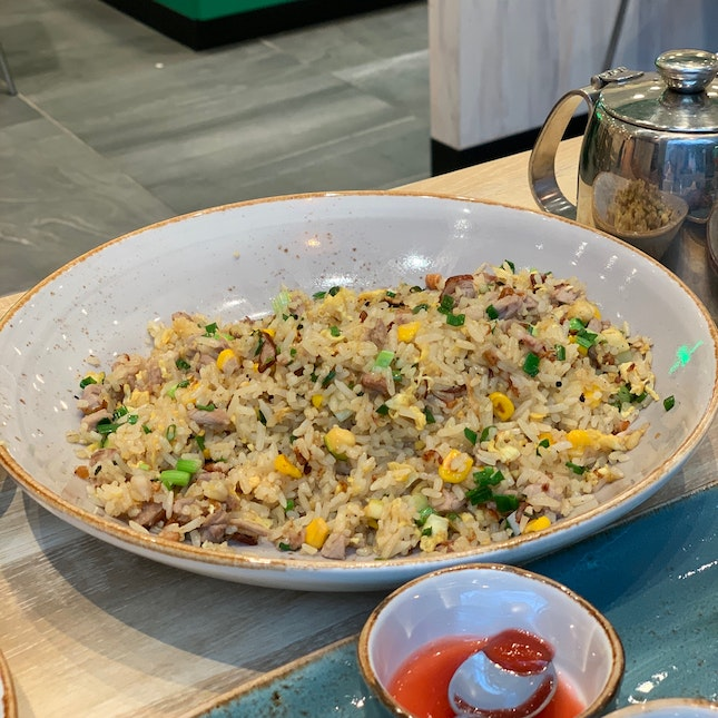 Duck Fried Rice ($12++)
