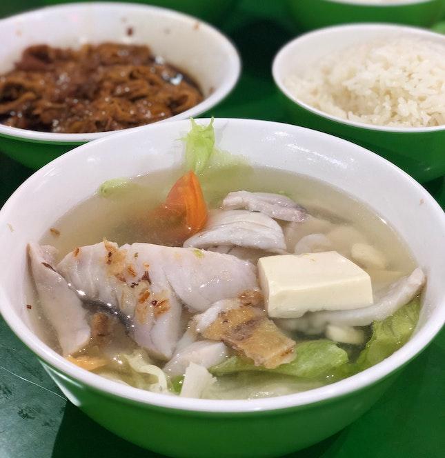 Comforting Fish Soup