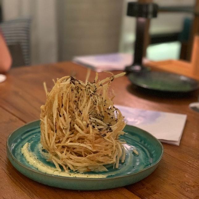 Fries & Udon Goreng