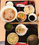Yomoda Soba With 4 Side Dishes