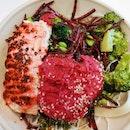 Mentai Salmon Salad