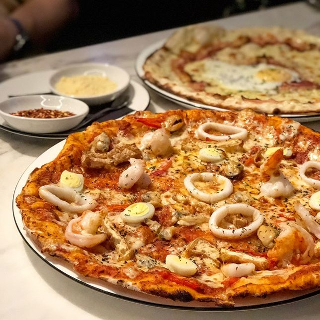 Thin crust hand-stretched pizzas from PizzaExpress!!!