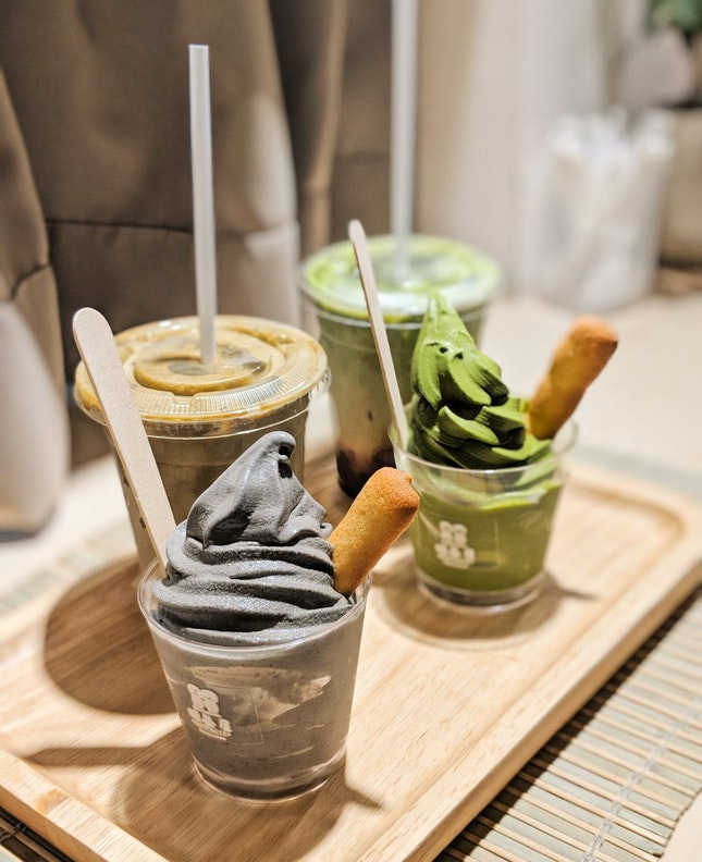 Soft Serves & Beverages