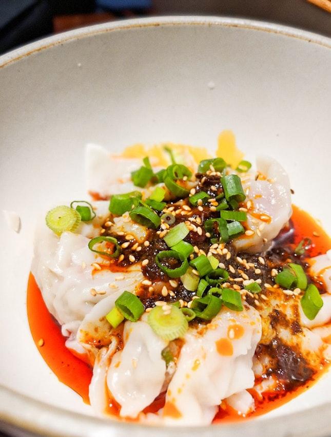 Spicy Sichuan Dumplings