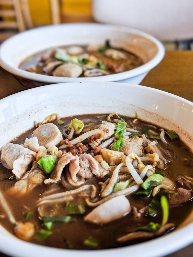 Pork and Beef Boat Noodles