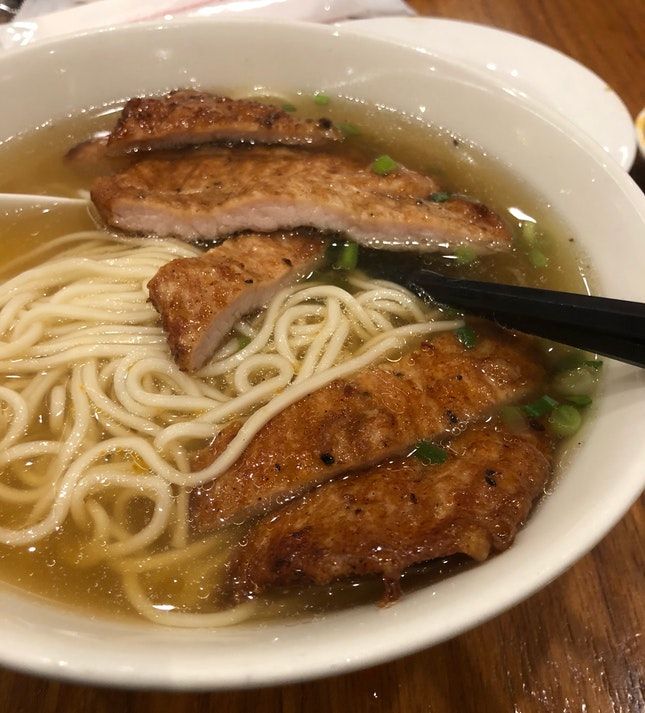Pork Ribs Noodles ($12.80)