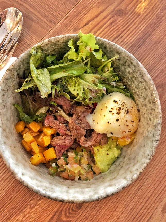 Steak Quinoa Bowl ($16)