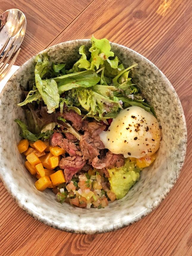 Steak Quinoa Bowl ($16)