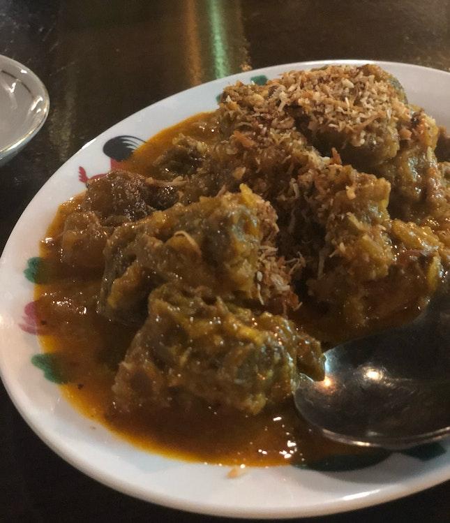 Beef Rendang ($16)