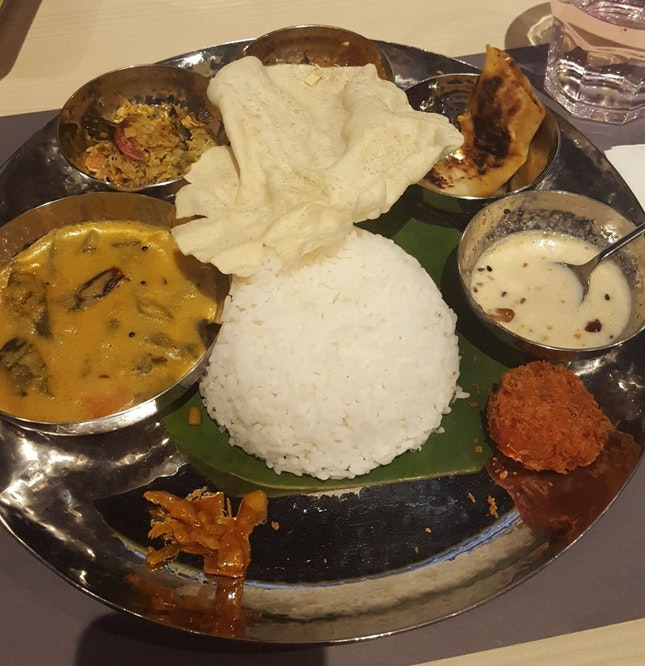 Vegetarian Thali Set