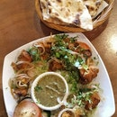 Fish Tikka ($16) with Plain Naan ($2)