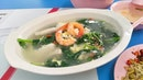 Spinach Seafood Soup ($4)