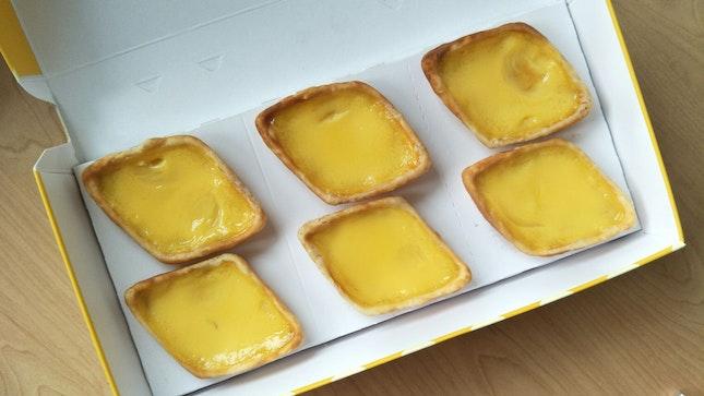 Best egg tarts in Singapore?