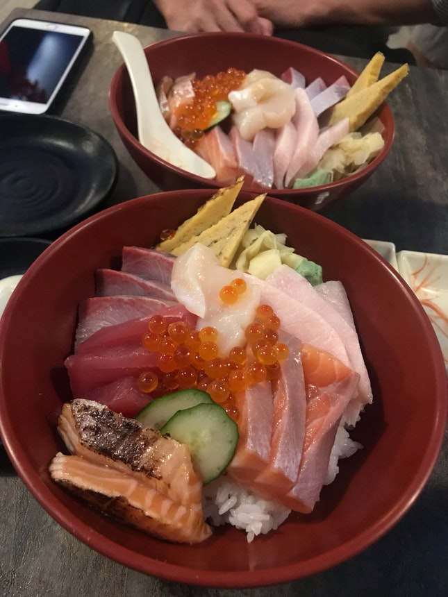 Go to place for Chirashi