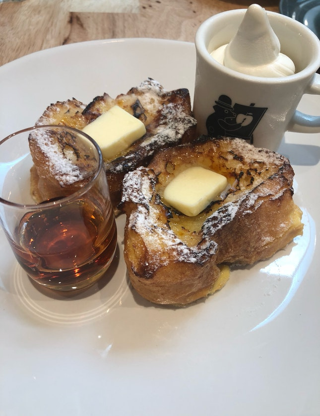 Butter And Maple Frenchtoast ($12.80)