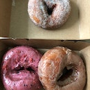 Doughnuts: Cardamom Sugar $3.50; Mixed Berries Glazed and Cinnamon Glazed $4ea