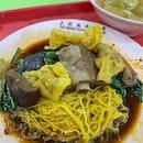 Pork Rib Noodle $4