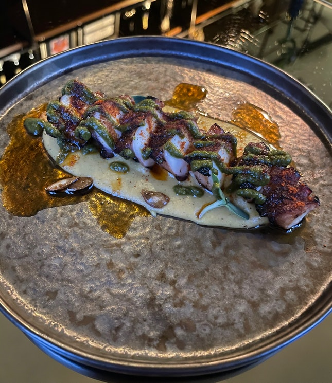 Grilled Spanish Octopus $28
