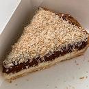 Dark Chocolate Coconut Tart $9