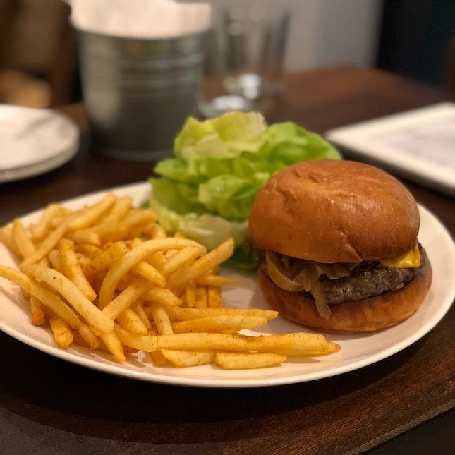 Cheeseburger [$22]