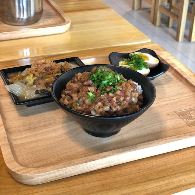 Braised Pork Rice Set ($8)