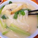 x0 fish bee hoon soup!