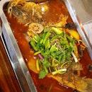 香辣特色烤魚 • • • • • • • • • • #四川廚子 #烤魚 #sgfood #sgfoodie #sgfoodies #sgeats #sgeatout #sgig #igsg #foodporn #foodspotting #foodinsing #foodie #8dayseat #jiaklocal #burpple #tslmakan #swweats #hungrygowhere #weeloysg #yoloeat #northpointcity #yishuneats