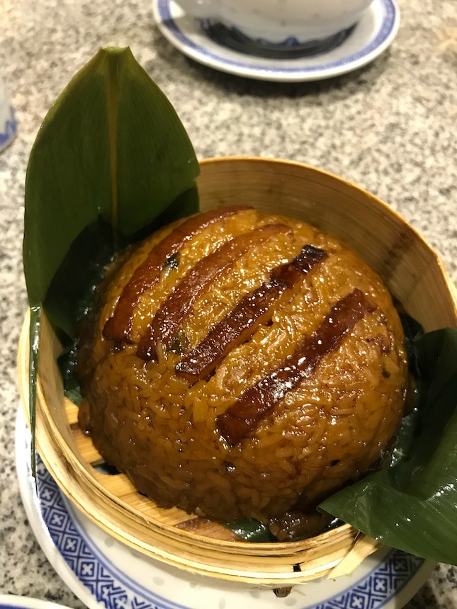 Glutinous Rice With Pork Belly