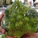 Pagoda Cauliflower #vegetables #food #sharefood #strange