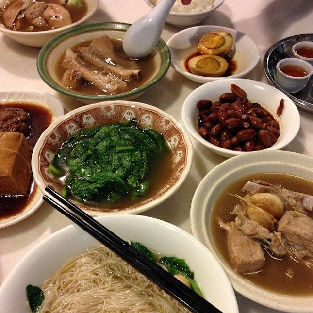 #dinner today #latergram #ngahsio #bakkutteh