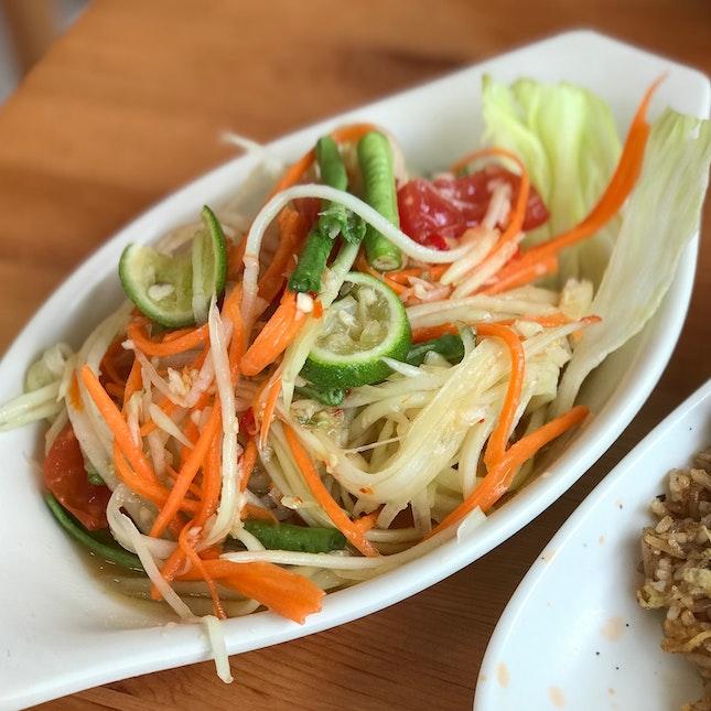 Thai Papaya Salad - $5.00