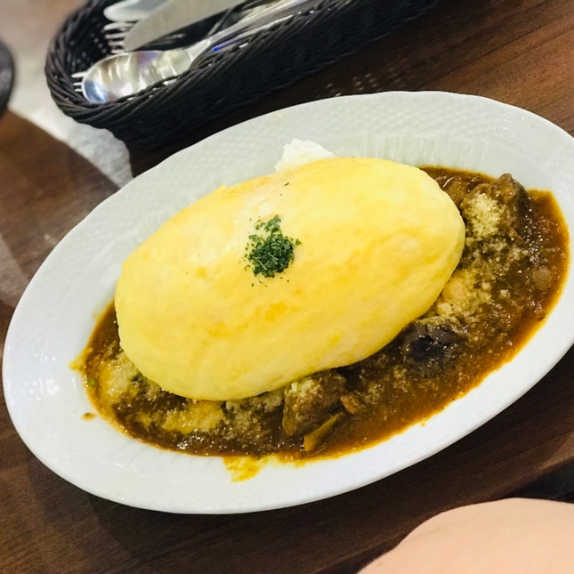 'Omu' Soufflé Curry - $17.80