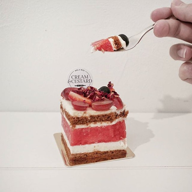 Strawberry Watermelon Cake [$6.80].
