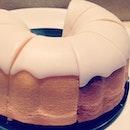 Lemon bundt cake...