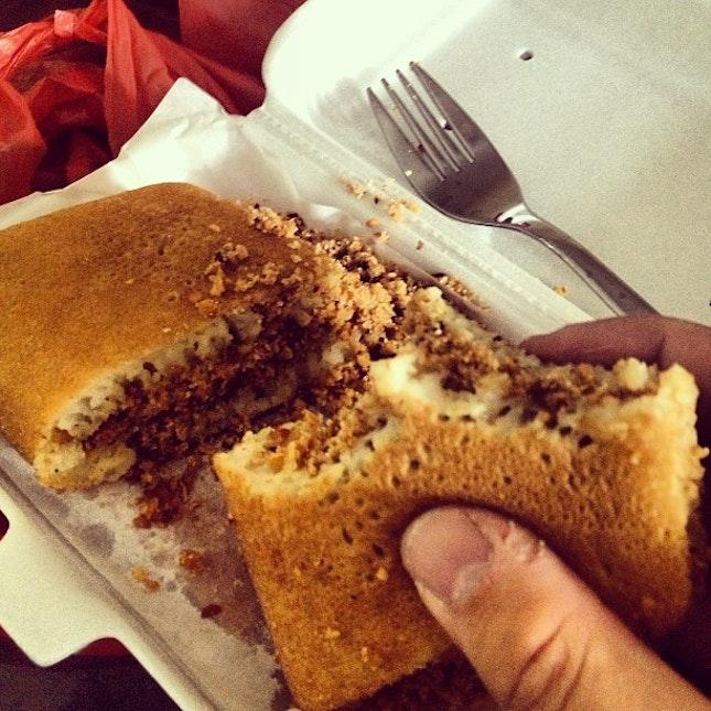 awesome peanut pancake!
