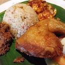 Madam Kwan's Nasi Bojari for lunch earlier this afternoon at Vivocity.
