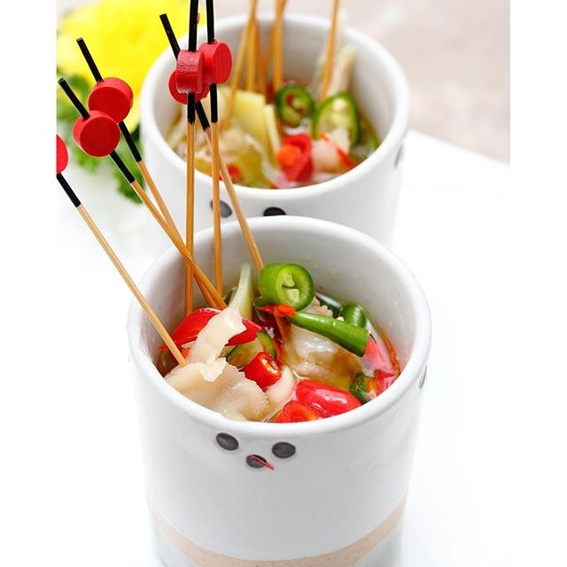 [Si Wei Yan] - Mixed Vegetables in Special Si Chuan Sauce ($14).