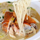 [Xian Seafood White Beehoon] - The latest hawker trend in town - Seafood White Beehoon and this is one of the best at Ubi Ave 1 Blk 304.