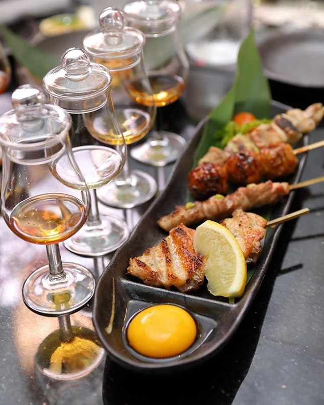 [The Wall] - After checking in to a few snacks, we board our Flight - East Meet West ($37) to discover the treasured flavours of fusion.
